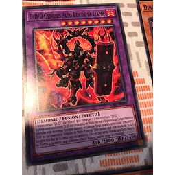 D/d/d Flame High King Genghis -sofu-en095- Common 1st Edition