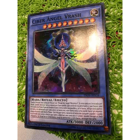 Cyber Angel Vrash - inov-en036 - Super Rare 1st Edition