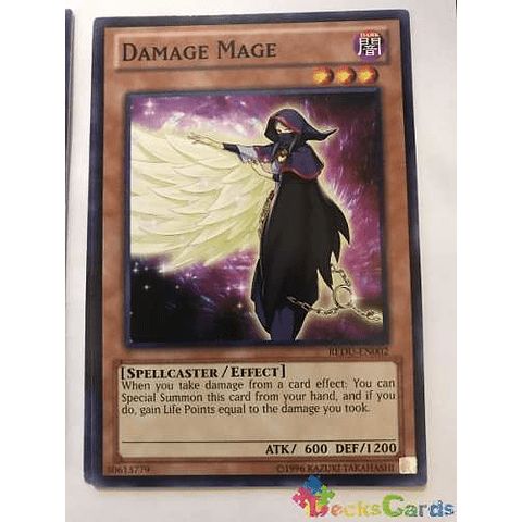 Damage Mage - redu-en002 - Common Unlimited