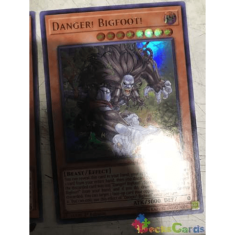 Danger! Bigfoot! - mp19-en136 - Ultra Rare 1st Edition
