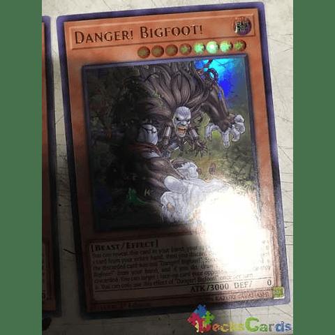 Danger! Bigfoot! -mp19-en136- Ultra Rare 1st Edition