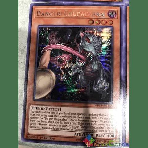 Danger! Chupacabra! -mp19-en138- Prismatic Secret Rare 1st