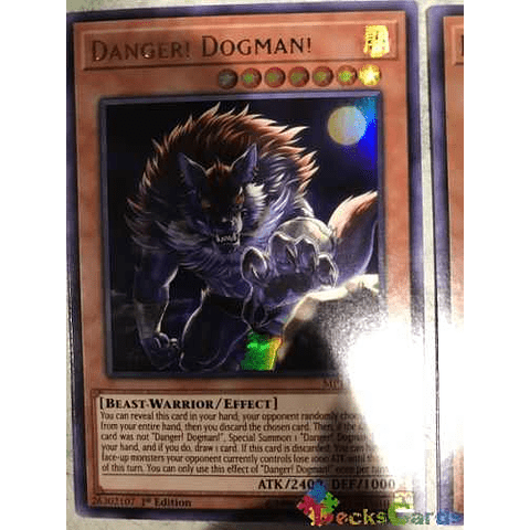Danger! Dogman! - mp19-en218 - Ultra Rare 1st Edition