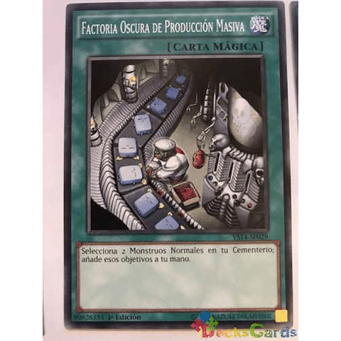 Dark Factory Of Mass Production - ys14-en029 - Common 1st Ed