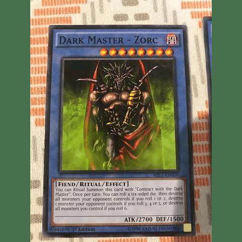 Dark Master - Zorc -mil1-en009- Common 1st Edition