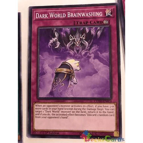 Dark World Brainwashing -cotd-en074- Common 1st Edition