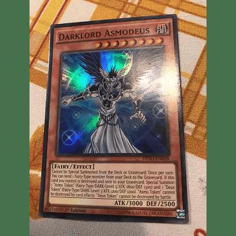 Darklord Asmodeus -deso-en038- Super Rare 1st Edition