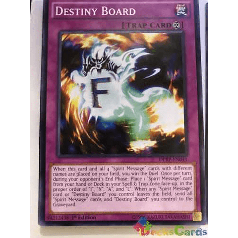 Destiny Board -dprp-en041- Common 1st Edition
