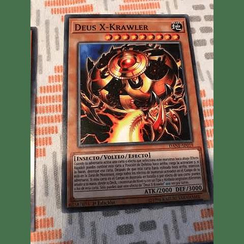 Deus X-krawler -dane-en019- Common 1st Edition