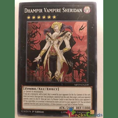 Dhampir Vampire Sheridan -mp19-en239- Common 1st Edition