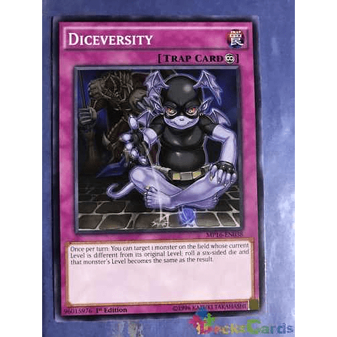 Diceversity -mp16-en038- Common 1st Edition
