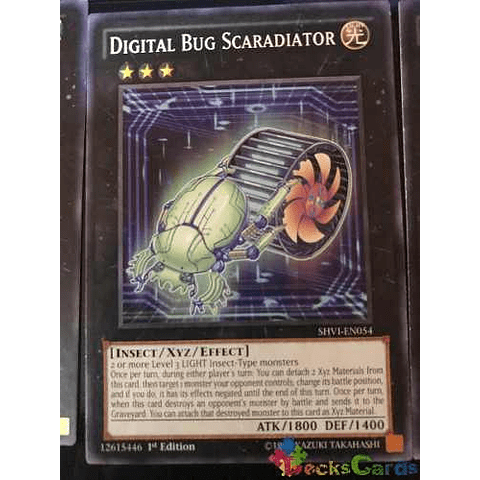 Digital Bug Scaradiator -shvi-en054- Common 1st Edition