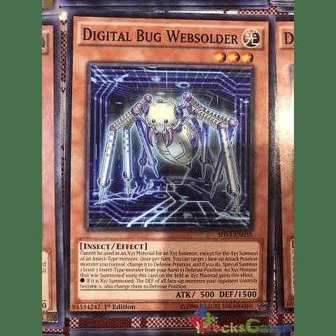 Digital Bug Websolder -shvi-en035- Common 1st Edition