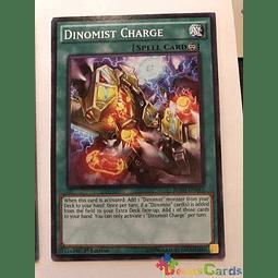 Dinomist Charge -bosh-en063- Common 1st Edition