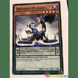 Dinomist Plesios -bosh-en025- Common 1st Edition