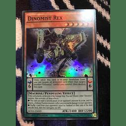 Dinomist Rex -bosh-en029- Super Rare 1st Edition