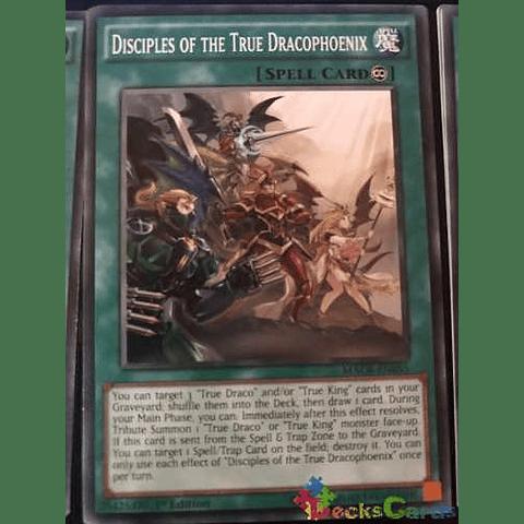 Disciples Of The True Dracophoenix -macr-en055- Common 1st