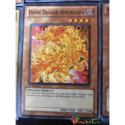 Divine Dragon Apocralyph - orcs-en036 - Common 1st Edition