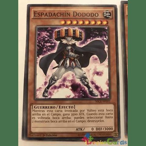 Dododo Swordsman -sece-en092- Common 1st Edition