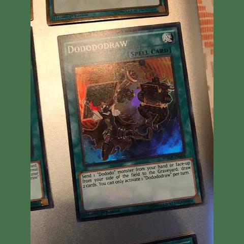 Dodododraw -wsup-en008- Super Rare 1st Edition
