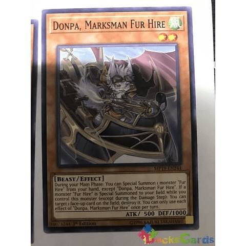 Donpa, Marksman Fur Hire - mp19-en244 - Common 1st Edition