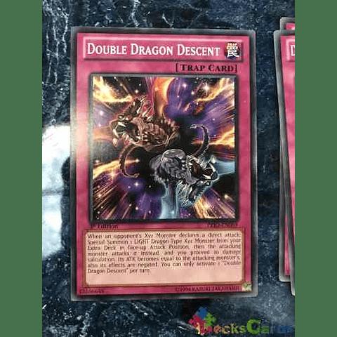 Double Dragon Descent -prio-en069- Common 1st Edition