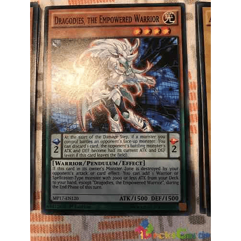Dragodies, The Empowered Warrior -mp17-en120- Common 1st Edition