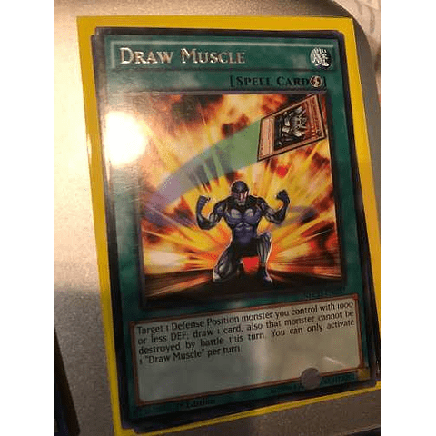 Draw Muscle - nech-en057 - Rare 1st Edition