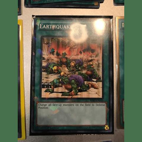 Earthquake -bp03-en150- Shatterfoil Rare 1st Edition