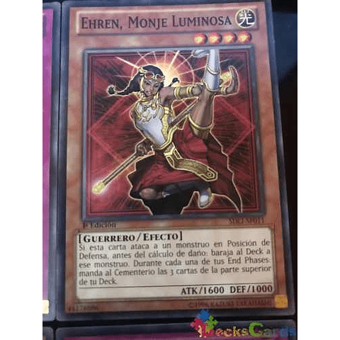 Ehren, Lightsworn Monk - sdli-en011 - Common 1st Edition
