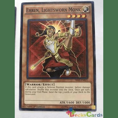 Ehren, Lightsworn Monk -sr02-en021- Common 1st Edition