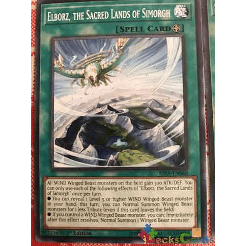 Elborz, The Sacred Lands Of Simorgh - rira-en060 - Common 1st Edition