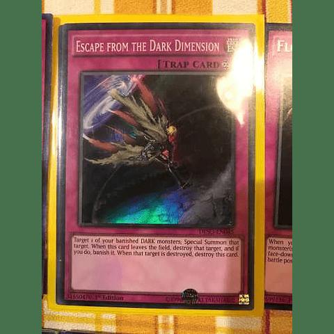 Escape From The Dark Dimension -deso-en045- Super Rare 1st Edition