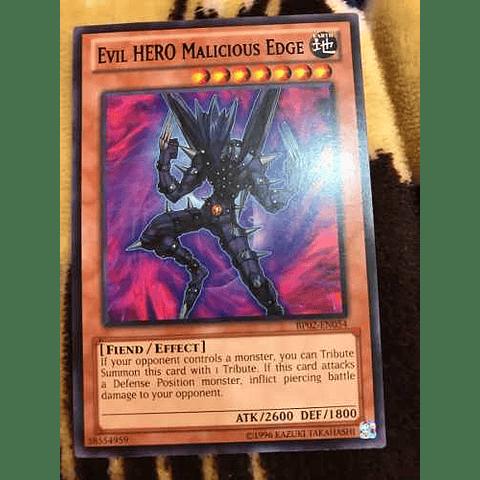 Evil Hero Malicious Edge -bp02-en054- Rare Unlimited