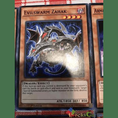Evilswarm Zahak -sr02-en014- Common 1st Edition