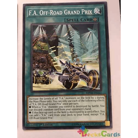 F.a. Off-road Grand Prix -mp18-en161- Common 1st Edition