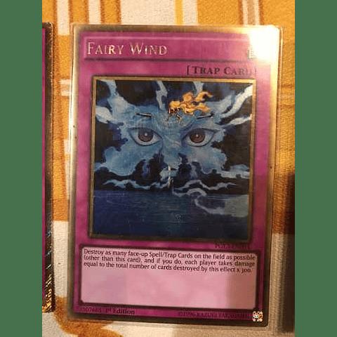 Fairy Wind -pgl3-en094- Gold Rare 1st Edition