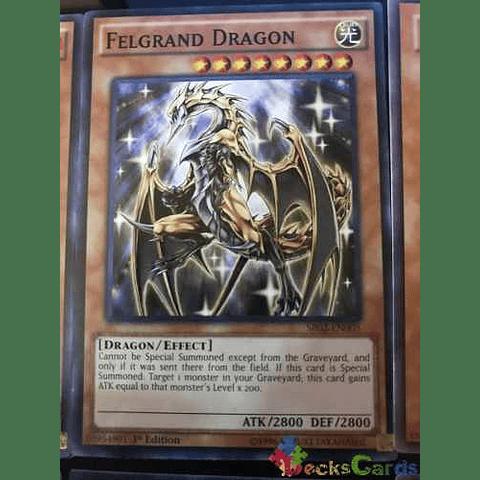Felgrand Dragon -sr02-en005- Common 1st Edition