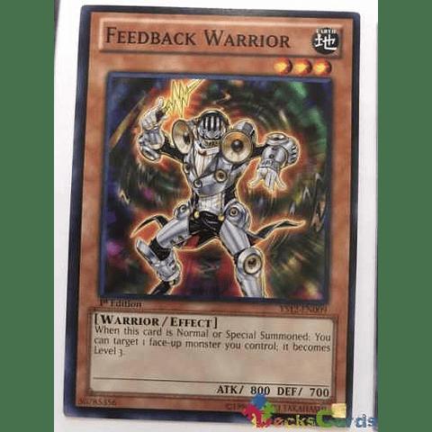 Feedback Warrior - ys12-en009 - Common 1st Edition