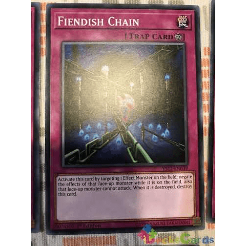 Fiendish Chain - ys17-en039 - Common 1st Edition