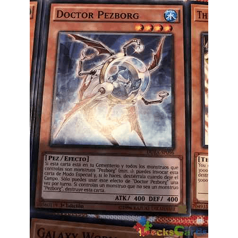 Fishborg Doctor -duea-en096- Common 1st Edition