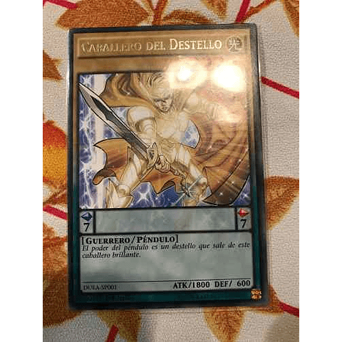 Flash Knight -duea-en001- Rare 1st Edition