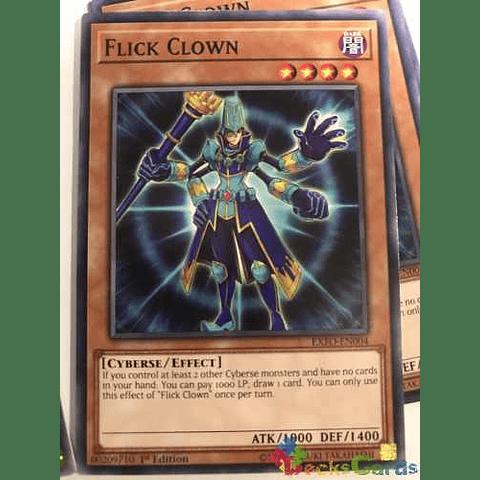 Flick Clown -exfo-en004- Common 1st Edition