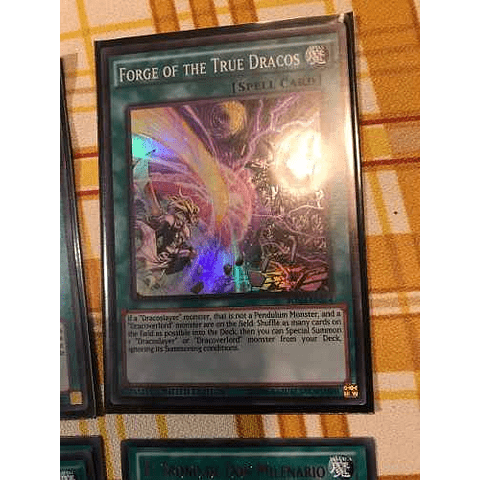 Forge Of The True Dracos -bosh-ense4- Super Rare Limited