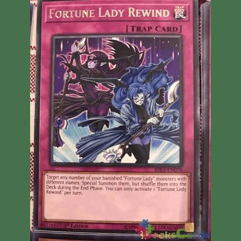 Fortune Lady Rewind - rira-en070 - Rare 1st Edition