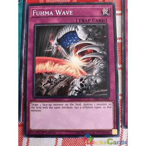Fuhma Wave - rira-en084 - Common 1st Edition