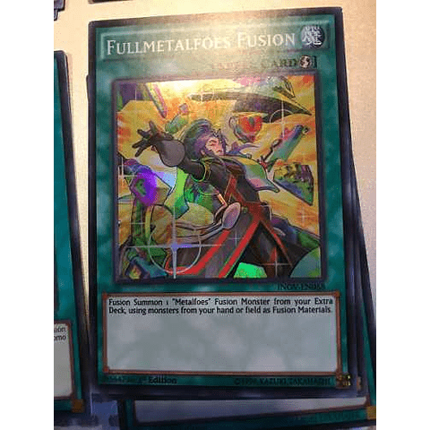 Fullmetalfoes Fusion -inov-en058- Super Rare 1st Edition