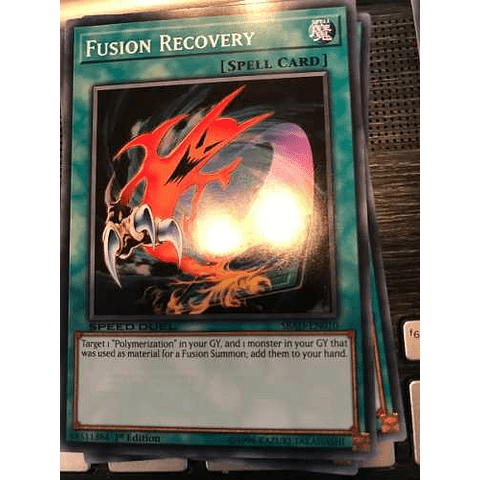 Fusion Recovery -sbad-en010- Common 1st Edition