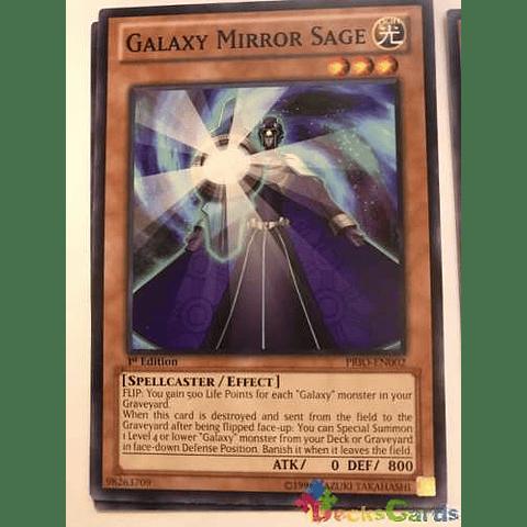 Galaxy Mirror Sage -prio-en002- Common 1st Edition