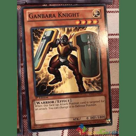 Ganbara Knight - ys12-en005 - Common 1st Edition